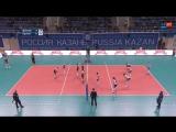 Волейбол Чемпионат России Динамо Казань - Протон 09_12_2017