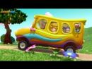 Dave and Ava The Wheels on the Bus Детские песенки на английском. С титрами. Учите английский вместе с ребенком.