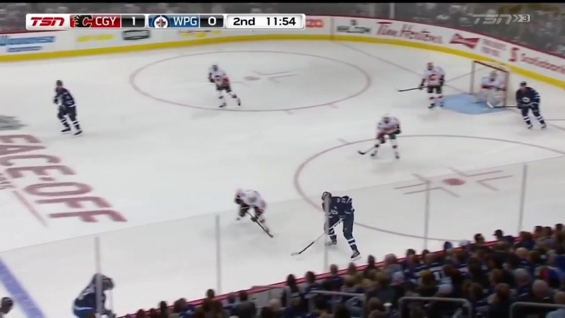 Flames @ Jets Highlights 10⁄16⁄15