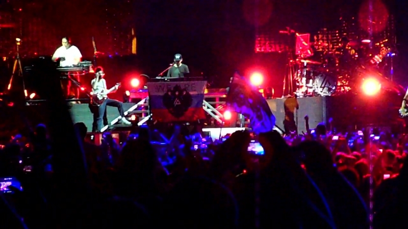 Linkin Park Live in Moscow 02/06/2014 Numb