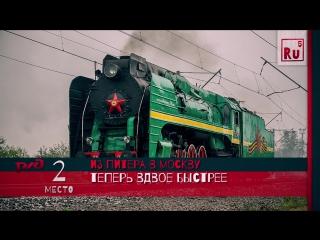 Россия - ТОП 5 - Железные дороги