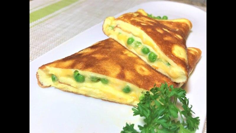 Нежнейший Омлет СИЛЬВИЯ. Превосходный Завтрак за 3 минуты. Omelette