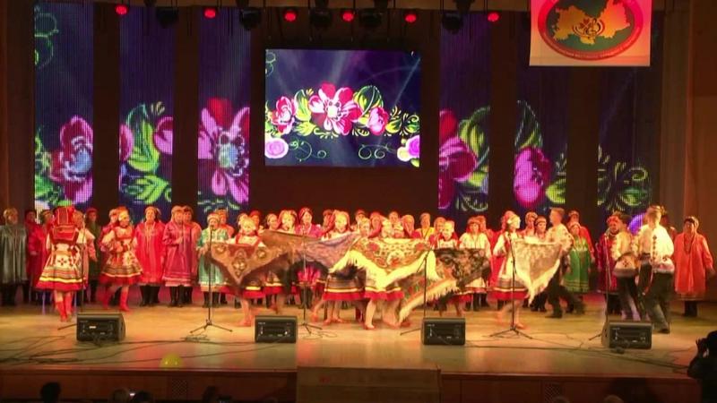 ОТРАДА и сборный хор - Луганяса келунясь (Шумбрат, Мордовия - 2017)