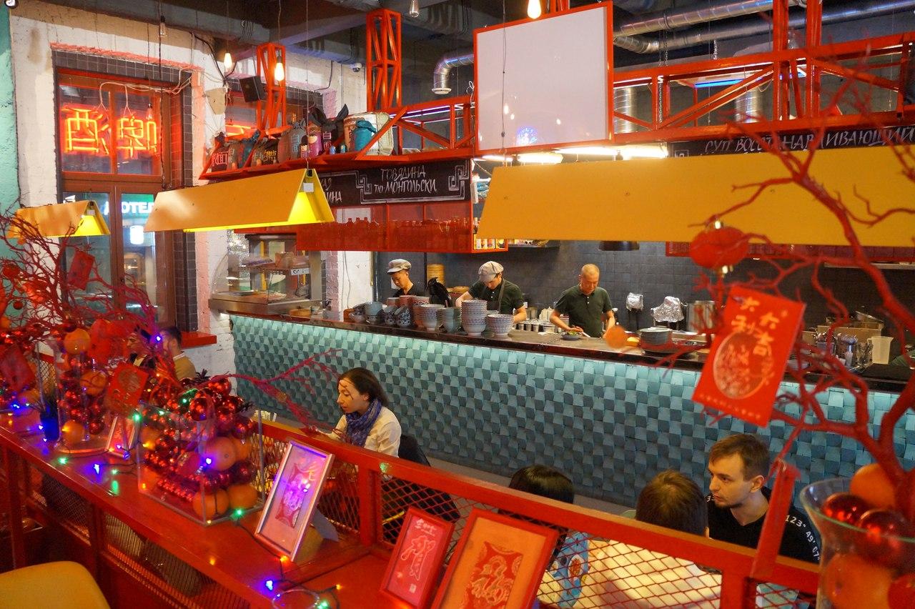 Китайская еда в московском Чайна-таун
