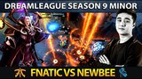 FNATIC vs NEWBEE - Abed Invoker - Dreamleague Season 9 Minor - Dota 2