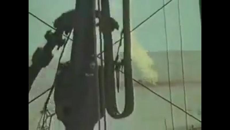 Тушение горящей газовой скважины ядерным взрывом 1963г.