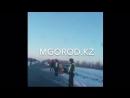 БҚО да полицейлер көлігі жантүршігерлік жол апатына түсті фото видео
