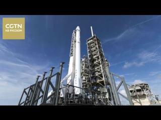 Космический грузовой корабль частной компании SpaceX пристыковался к Международной космической станции