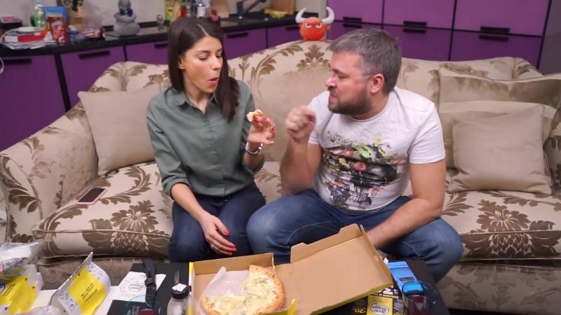 PRosto Обжорик обзор на службу доставки Алло Пицца в Москве смотреть онлайн без регистрации