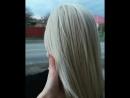 Семикаракорск Работата обесцвечивающего продукта Blond Bar Работа красителя Kapous Hyaluronic Acid Холодное направление блонд