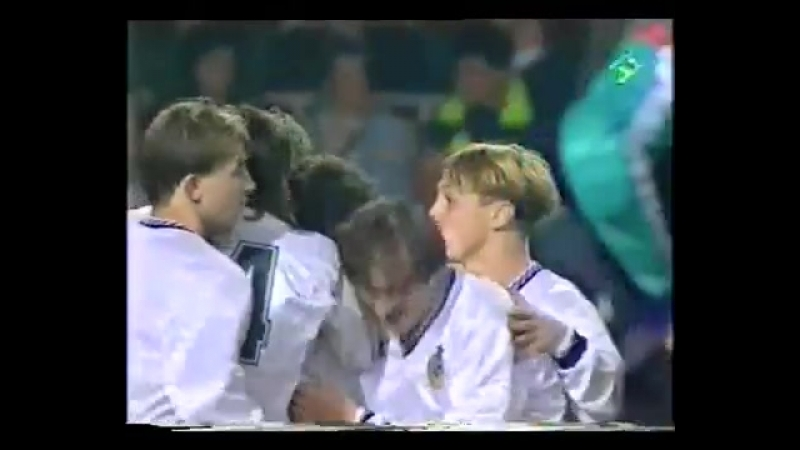 Лига Чемпионов 1992-93. 1-8 финала - Барселона - ЦСКА (04.11.92)