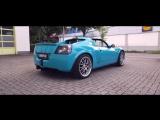 CARDIP DipPorn -- Opel Speedster Miami Blue