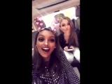 Публикация Жасмин Тукс в Snapchat  17.11.17