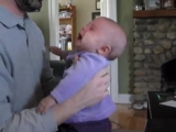Notorious B.I.G. calms down crying baby - original