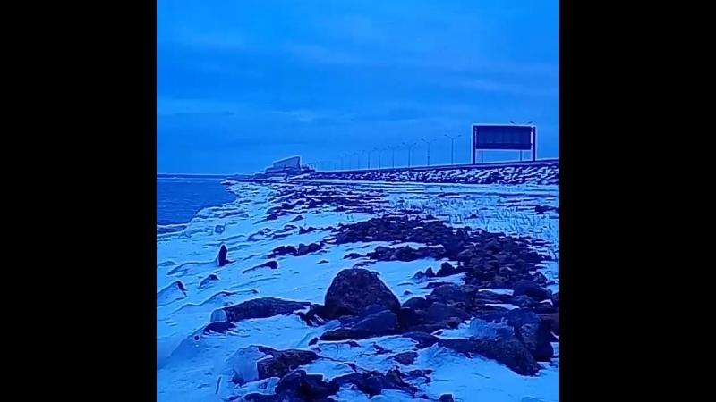 северная дамба горбатый мост