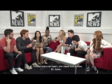 Riverdale Cast on the Success of the Show _ Comic-Con 2017 _ MTV (rus sub)
