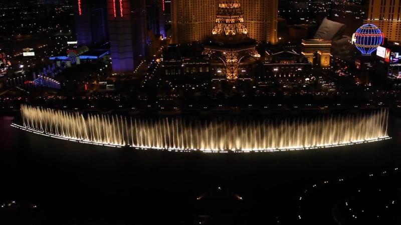 Bellagio Fountains - Sarah Brightman Andrea Bocelli - Con Te Partiro (Time to Say Goodbye)