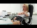 Victoria Summers - сочная сисястая секретарша изнывает от жажды секса на рабочем месте, не порно