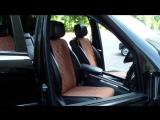 Авточехлы-накидки на сиденья автомобиля