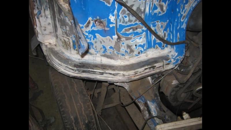 Кузовной ремонт Мерседес (кирпич) HD