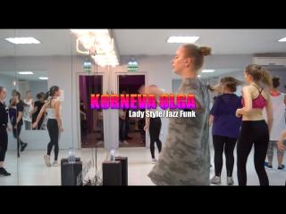 Korneva Olga | HIP-HOP, LADY STYLE, JAZZ-FUNK (opening)