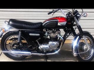 Мотоцикл Triumph T140V Bonneville , 1978 года
