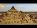 В Китае построили парк с крупнейшей в мире скульптурой из песка
