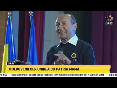 Băsescu România poate susține integrarea Basarabiei