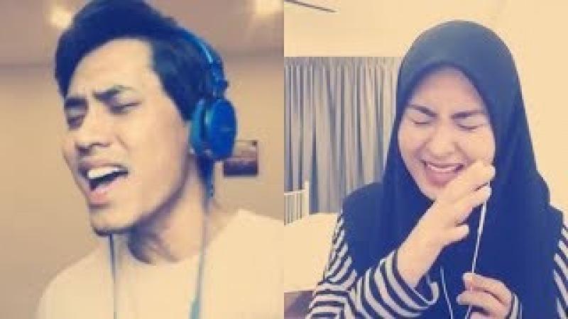 Versi Lengkap! Adu nada tinggi Khai Bahar feat Wany Hasrita cover smule | Terus Mencintai