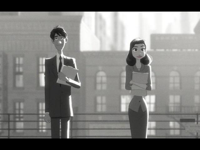Видео к мультфильму «Бумажный роман» (2012): Мультфильм