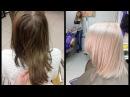 Окрашиваниеиз брюнетки в блондинку DIY From dark to lighthair
