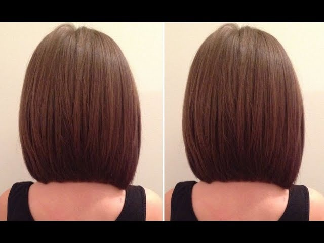 How To cut a Graduated Bob Haircut step by step - Hairbrained
