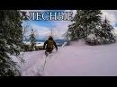 В ТАЙГЕ ЗИМОЙ С МИНИМАЛЬНЫМ СНАРЯЖЕНИЕМ Горы Снег Бушкрафт - Winter Solo Overnight Bushcraft Camp