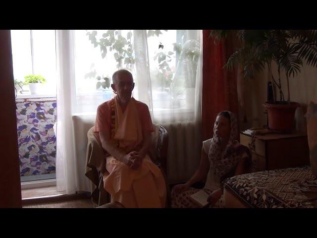 BVV Narasimha Swami, SB 1.1.22 Blagoveshchensk 16.08.2017