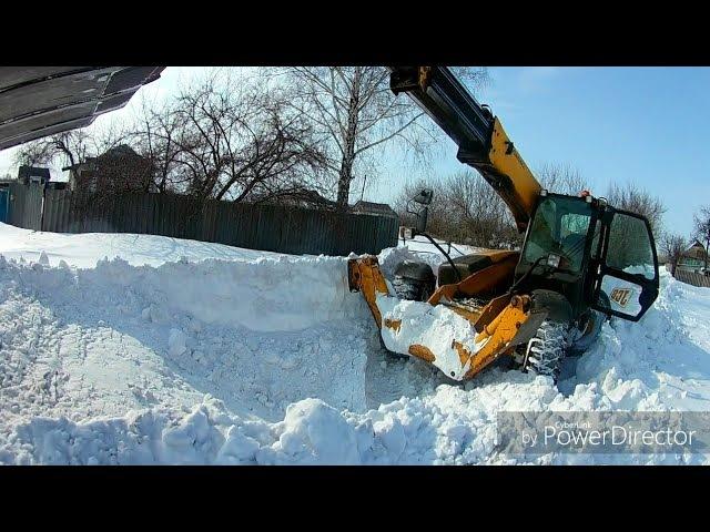 Снежная история. Розгребаем последствия 3 дневного бурана.