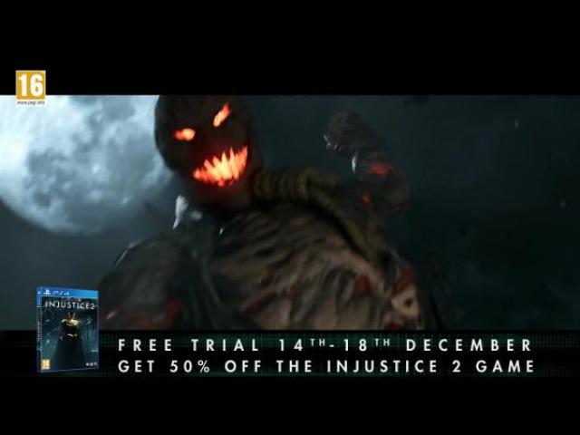 Трейлер пробной версии Injustice 2