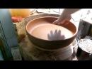 Сушка глиняных изделий с широким дном