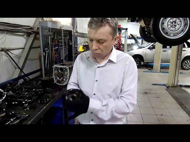 Дефектовка и ремонт КПП ВАЗ 21214 Нива