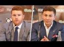 Gennady Golovkin vs. Canelo Alvarez   FULL PRESS CONFERENCE