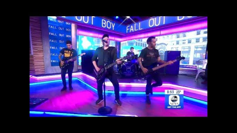 Fall Out Boy - Hold Me Tight Or Don'T - Live GMA