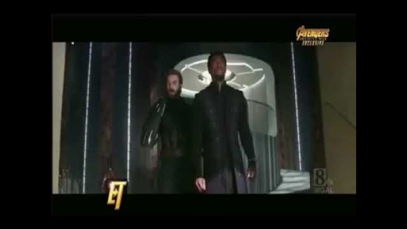 Avengers infinity war new footage from entertainment tonight