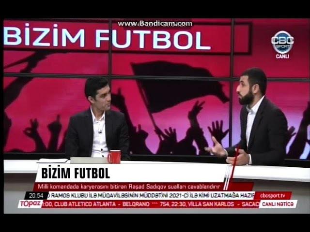 Rəşad Sadıqov əsəbiləşdi -