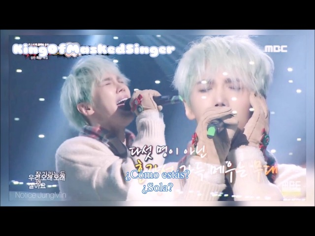 [Sub Esp] Park Jung Min - 그대가 그대를 (Live a Long Long Time) (King Of Masked Singer - Cover)