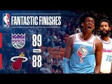 The Fantastic Finish Between the Kings and the Heat in Miami January 25, 2018
