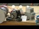 ЭЛЕКТРО генератор 600 Вт от ЭЛЕКТРО мотора 60 Вт, асинхронный.