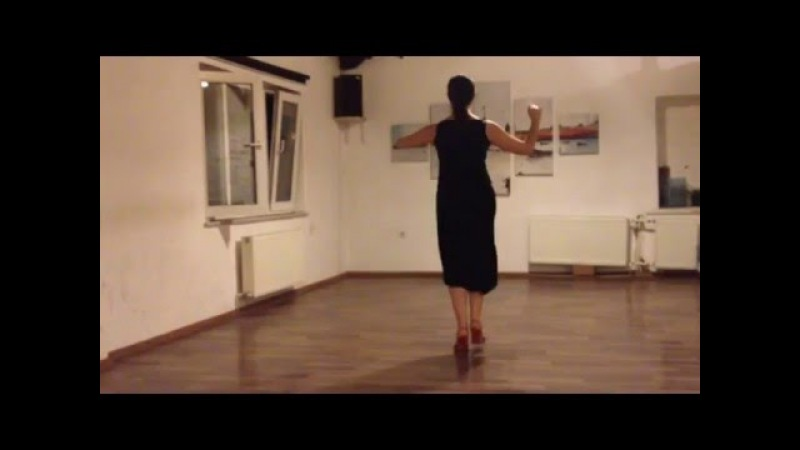 Double time embellishment for milonga [part 1] - Mini practice (14)