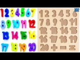 Learn 1To20 Numbers For KidsCounting NumbersMagic Numbers 1 to20Learn Colors Play Doh Compilation