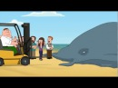 Гриффины - Питер Гриффин спасает кита