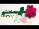 Pipe cleaner flower - Mothers day craft