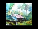Уроки акварельной живописи - Watercolor Painting For Beginners
